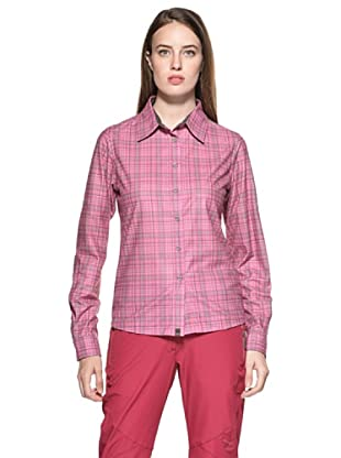 Salewa Camisa Molignon Pl W L/S Srt (Rosa)