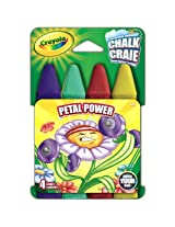 Crayola Build Your Box Petal Power Chalk (4 Count)