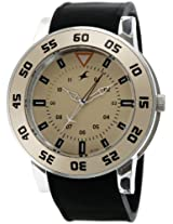 Fastrack OTS Explorer Analog Beige Dial Men's Watch - 9950PP06J