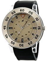 Fastrack OTS Explorer Analog Beige Dial Men's Watch - 9950PP06J