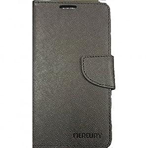 Mercury Goospery Flip Cover For HTC D616 Desire 616 - Full Black