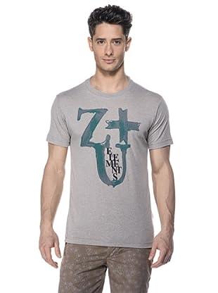 Zu-Elements Camiseta Zavier (Gris)