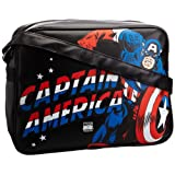 Logoshirt Unisex-Adult Marvel Captain America Fake Messenger Bag