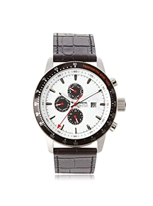 Ingersoll Men's 1219WH Presidios Black/White Stainless Steel Watch