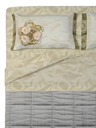 Ipersan Completo fotografico Fine-Art Disegno Classic Elegance (beige/rosa/verde)