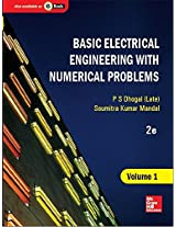 Basic Electrical Engineering with Numerical Problems - Vol. 1