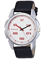 Fastrack Casual Analog White Dial Men's Watch - 3124SL01