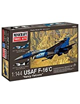 "Minicraft F-16C USAF ""Fancy Falcons"" Airplane Model Kit (1/144 Scale)"