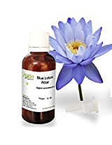 Allin Exporters Blue Lotus Attar - 100% Pure , Natural & Undiluted - 30 ML