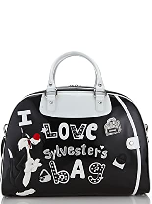 Looney Tunes Borsa Weekend Lovely nero