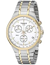 Tissot Chronograph White Dial Men's Watch - T0774172203100