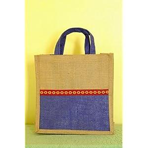 Knotty Nest Purple Hand Bag