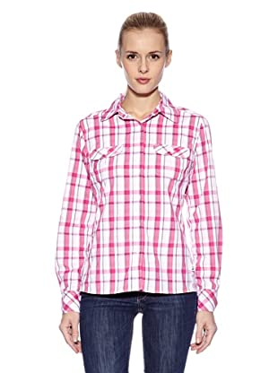 The North Face Camisa Boulder Kassie Woven (Rosa)