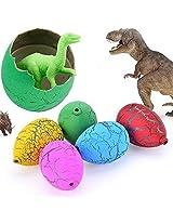 60pcs/Lot Children Gift Toys Cute Magic Eggs Growing Toys Dinosaur Eggs+Show Box Hatching Egg Toy