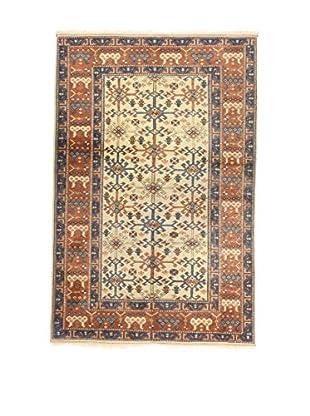 L'Eden del Tappeto Teppich Isparta beige/braun/blau 196t x t131 cm