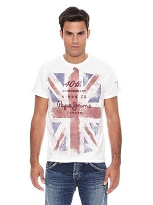 Pepe Jeans London Camiseta 40Mens (Blanco)