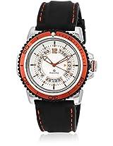 30011Ppgi Black/White Analog Watch