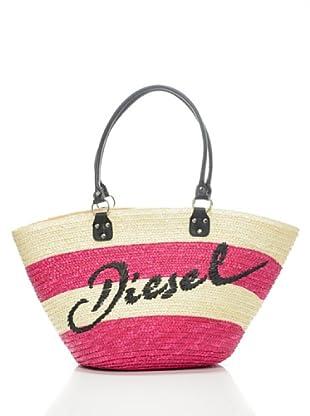 Diesel Tasche Sandy (fuchsia/beige)
