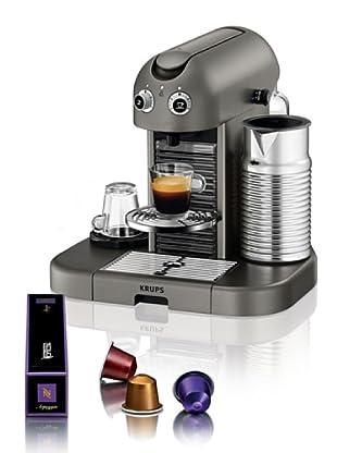 Krups Máquina de Café Nespresso Gran Maestria Titanio