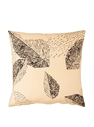 Twinkle Living Cascade Pillow Cover (Beige/Black)
