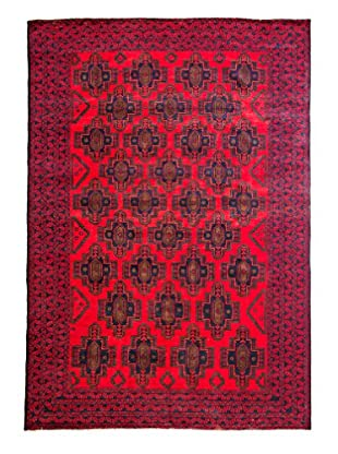 Solo Rugs Tribal Collection Oriental Rug, Red, 6' 8