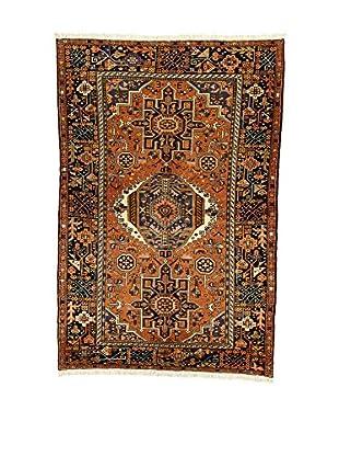 L'Eden del Tappeto Teppich Karaje braun/dunkelblau 220t x t147 cm