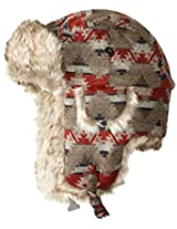 Pendleton Men's Tracer Hat, Taupe/Red Mountain Majesty, Small