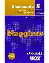 Maggiore el diccionario Italiano-Español / Maggiore il dizionario Spagnolo-Italiano / Italian-Spanish Dictionary
