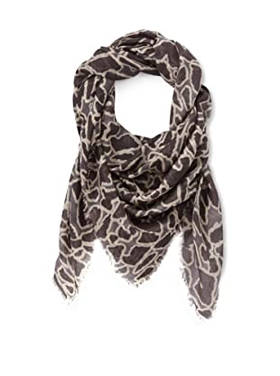 Moio Women's Cure Bac Square Scarf (Gris)