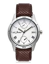 Jainx Explore Analog white Dial Men's Watch - JM115