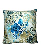"The Bombay Store Cotton Cushion Cover - Floral mix 4 L 16"" H 16"""