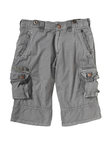 Alpha Industries Boy's Austin Cargo Shorts (Gray)