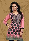Kelly SCMA-32 Embroidered Kurti - Pink