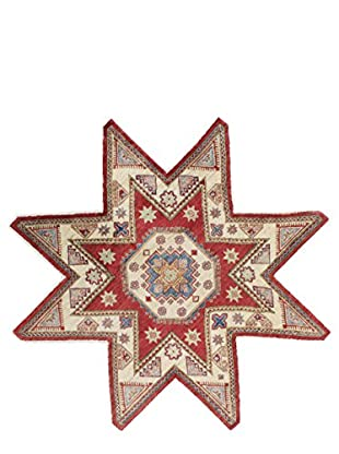 Bashian Rugs One-of-a-Kind Hand Knotted Paki Kazak Rug, Red, 6' 8
