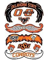 StacheTATS Oklahoma St. Temporary Mustache Tattoos
