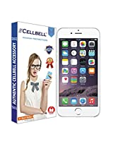 Cellbell Premium Tempered Glass Screen Protector for Apple Iphone 6 6s (4.7 inch ONLY)[3D Touch Compatible- Tempered Glass] 0.2mm Screen Case Protection 99% Touch Accurate Fit(Clear)(Comes with Warranty)Complimentary Prep cloth