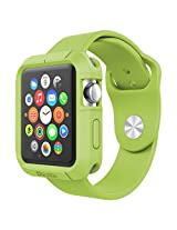 Poetic Turtle Skin Cover Case for Apple Watch 38mm Green