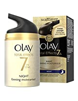 Olay Total Effects 7 in 1 Anti-Ageing Night Firming Moisturizer for Women, 1.7 Ounce