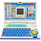 English Learner Kids Educational Laptop Notebook Learning Toy Kids Spelling Game Laptop for small child for their Learning Aid Maths etc