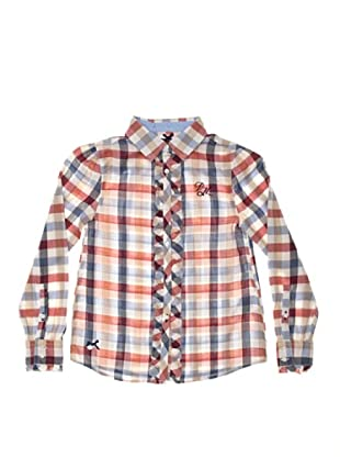 Pepe Jeans London Camisa Gladys (Blanco / Rojo)