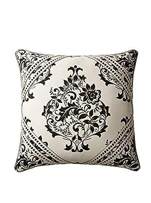 Belmont Home Aubry Decorative Pillow, Ivory/Black, 22