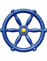 Jungle Gym Kingdom Pirate Ship Steering Wheel Blue