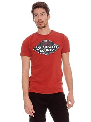 Timeout Camiseta LA (rojo vintage)