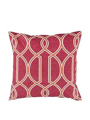 Surya Pillow, Hot Pink