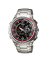 CASIO EDIFICE ANALOG-DIGITAL EFA-121D-1AVDR (ED263) MEN'S WATCH