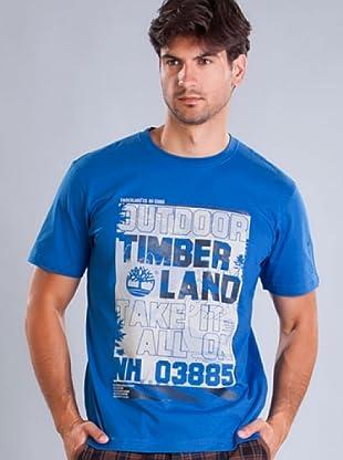 Timberland Camiseta (Azul)
