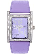 Attractive DB23J302Y Purple/Purple Analog Watch