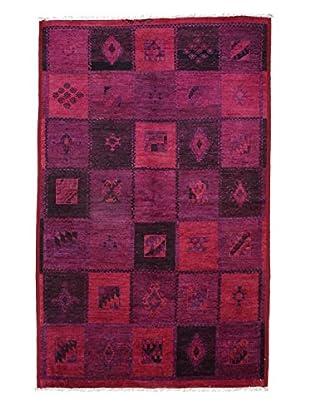 Darya Rugs Moroccan Oriental Rug, Red, 5' x 7' 10
