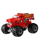 Hot Wheels Monster Jam Backdraft Die-Cast Vehicle, 1:24 Scale