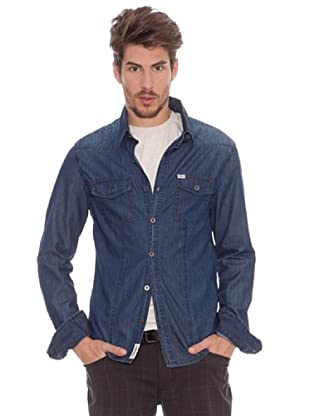 Timeout Camisa Vaquera (azul marino)